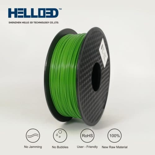 HELLO3D 3D Printer Filament - PLA - 1.75mm - Dark Green - 1Kg