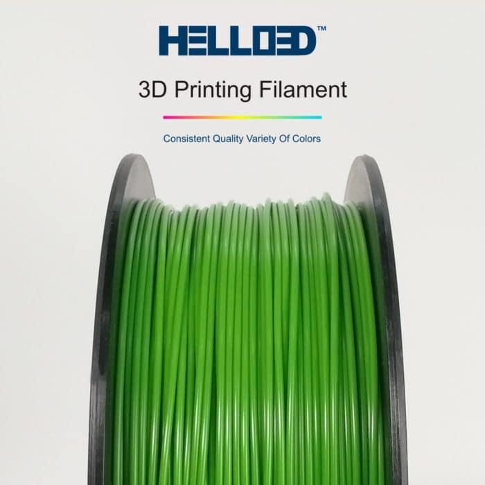 HELLO3D 3D Printer Filament - PLA - 1.75mm - Dark Green - 1Kg
