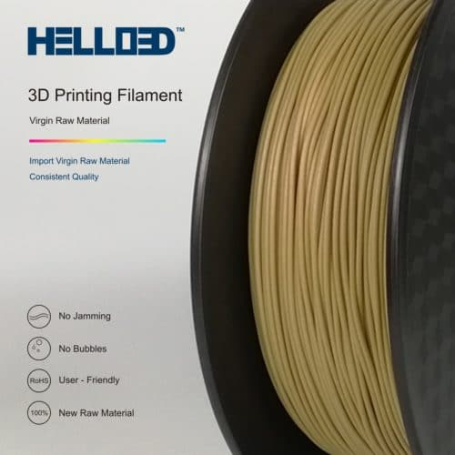 Hello3D 3D Printer Filament – Wood – 1.75mm – 0.8Kg