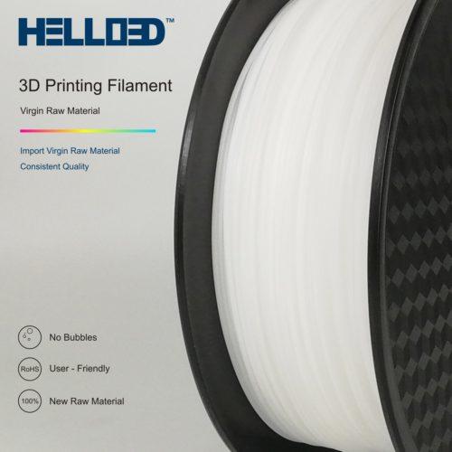 HELLO3D 3D Printer Filament - POM - 1.75mm - Natural - 1Kg