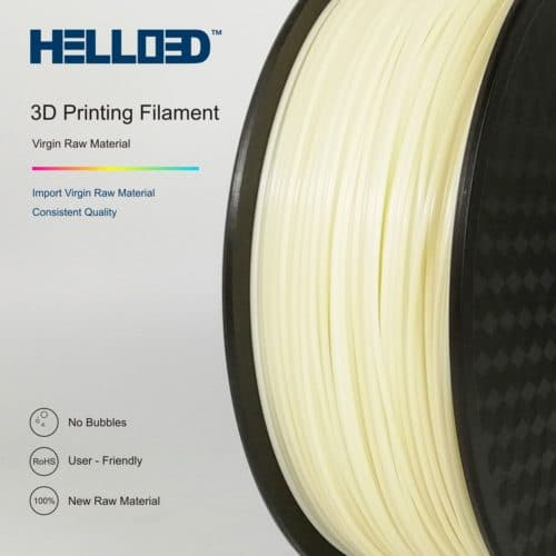 HELLO3D 3D Printer Filament - ASA - 1.75mm - Natural - 1Kg