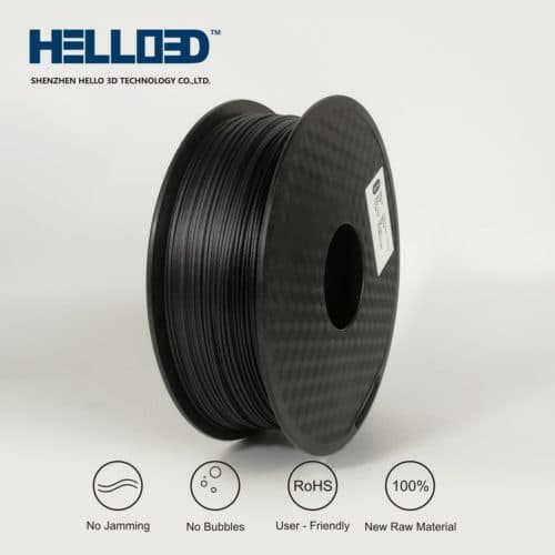 HELLO3D 3D Printer Filament - 1.75mm - Carbon Fibre - 1Kg