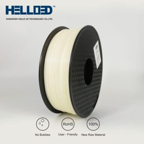 HELLO3D 3D Printer Filament - ABS - 1.75mm - Natural - 1Kg
