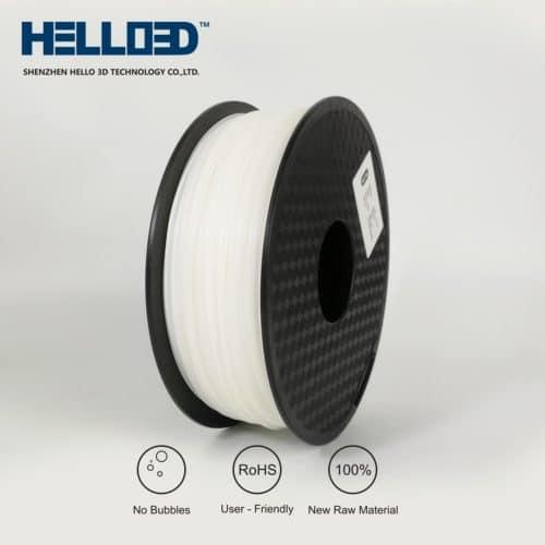 HELLO3D 3D Printer Filament - HIPS - 1.75mm - Natural - 1Kg